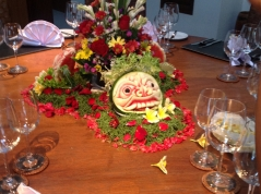 fruit-carving