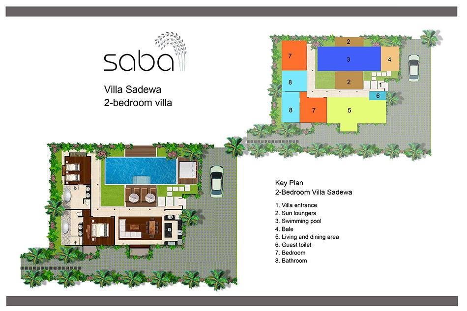 Sadewa floorplan